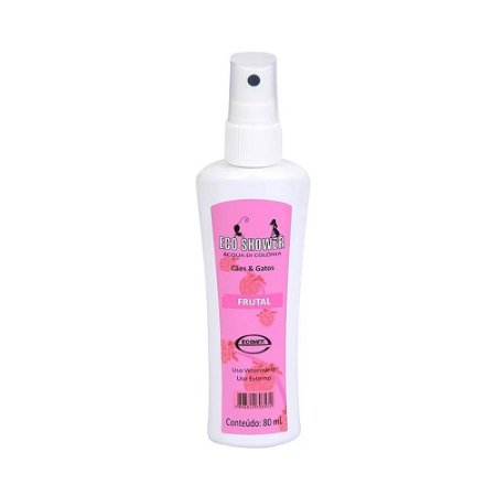 Colônia Eco Shower Frutal Ecovet 80ml - Perfume