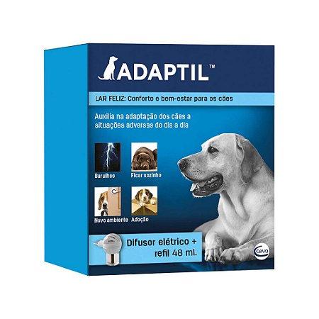 Adaptil Difusor + Refil 48ml Auxilia na Adaptações de Cães - Ceva