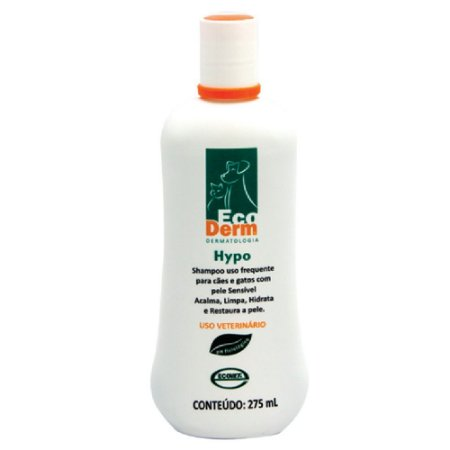 Shampoo Hidratante Ecoderm Hypo 275ml - Ecovet
