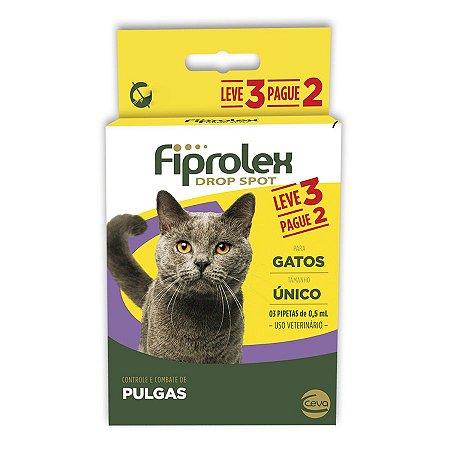 Antipulgas Fiprolex Para Gatos Pague 2 Leve 3 - Ceva