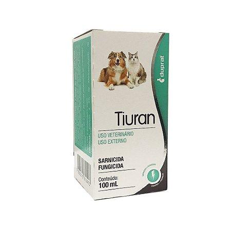 Solução Sarnicida e Fungicida Tiuran 100ml - Duprat