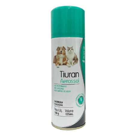 Sarnicida e Fungicida Tiuran Aerossol 125ml - Duprat
