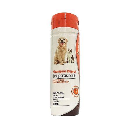 Shampoo Ectoparasiticida 230ml Pulga Piolho Carrapato - Duprat