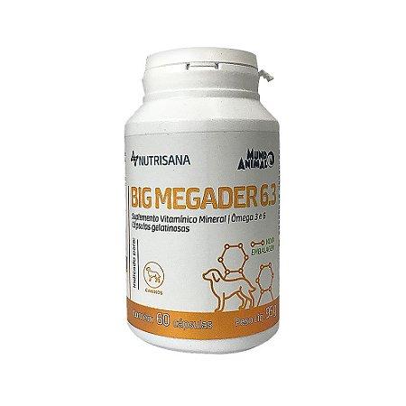 Suplemento Vitamínico Nutrisana Big Megader 60 cápsulas - Mundo Animal