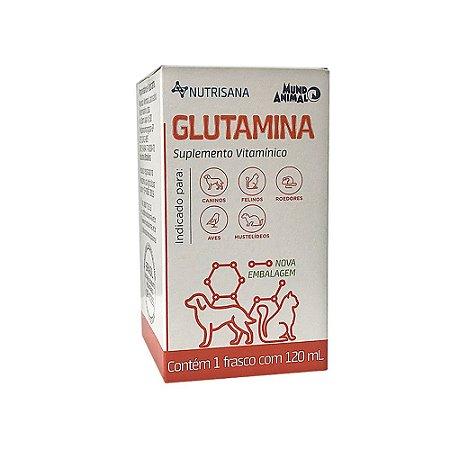 Suplemento Vitamínico Nutrisana Glutamina 120ml - Mundo Animal