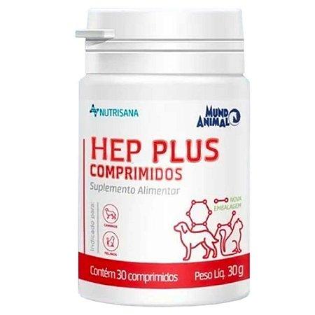 Suplemento Vitamínico Nutrisana Hep 30 Comprimidos - Mundo Animal