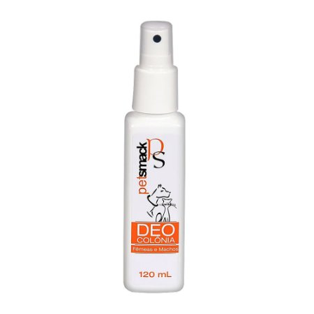 Deo Colônia Pet Smack Fêmeas e Machos 120ml