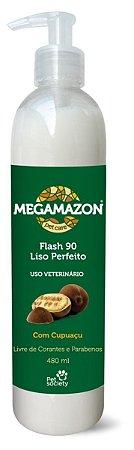 Megamazon Máscara Flash 90 Liso Perfeito 480ml - Pet Society