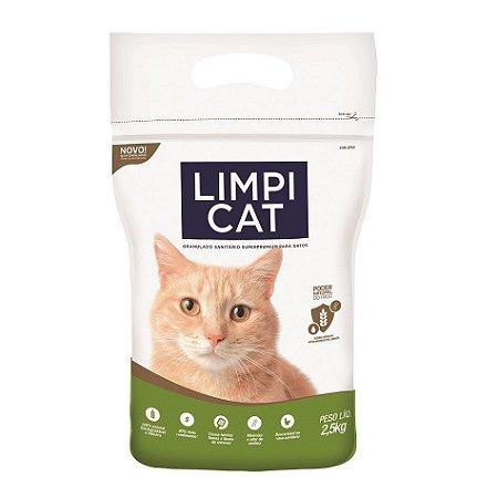 Granulado Sanitário Limpi Cat Para Gatos - 2,5kg