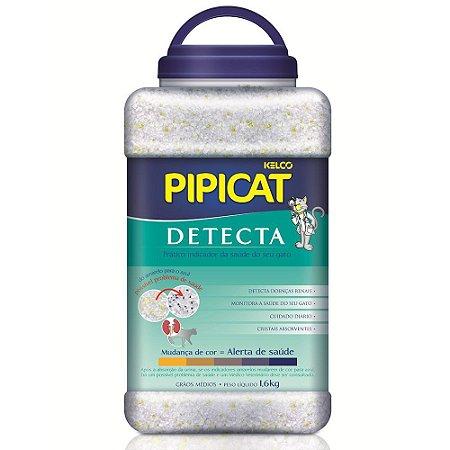 Areia Higiênica Pipicat Detecta 1,6kg - Kelco