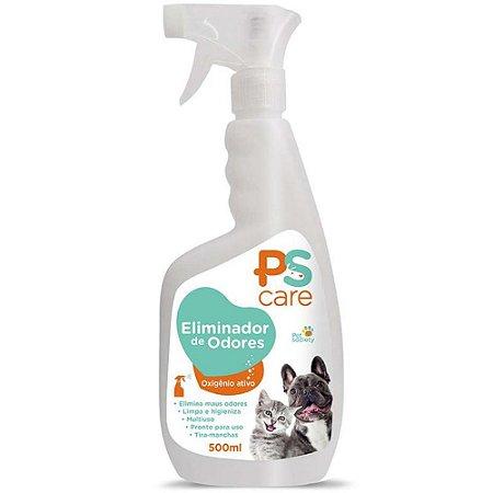 Eliminador de Odores Spray Ps Care 500ml - Pet Society
