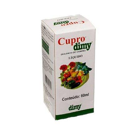 Fungicida Cupro Dimy 60ml Sulfato De Cobre