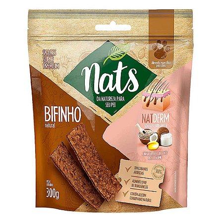 Snack Bifinho Natural NatDerm 300g - Nats