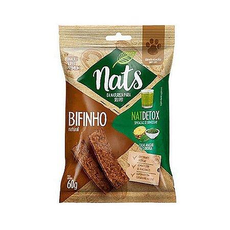 Snack Bifinho Natural NatDetox 60g - Nats