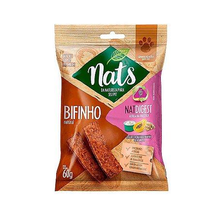 Snack Bifinho Natural NatDigest 60g - Nats