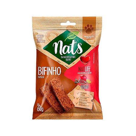 Snack Bifinho Natural NatLife 60g - Nats