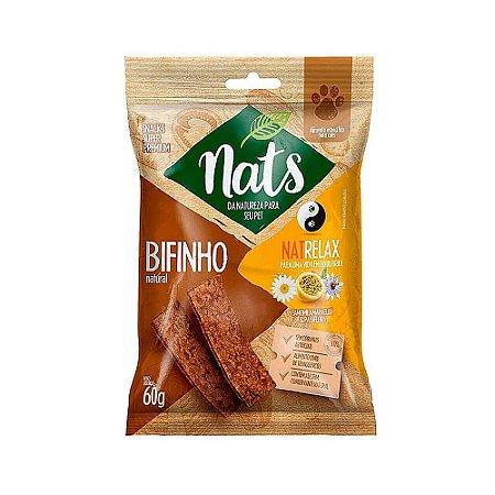 Snack Bifinho Natural NatRelax 60g - Nats