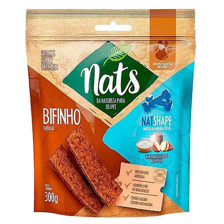 Snack Bifinho Natural NatShape 300g - Nats