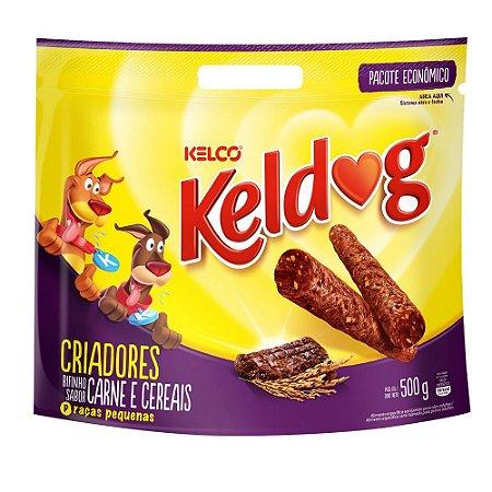 Bifinho Keldog Carnes e Cereais 500g - Kelco