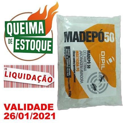 Inseticida Madepó 50 Dipil 250g - LIQUIDAÇÃO