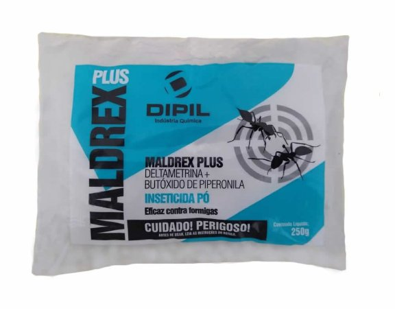 Maldrex Plus Pó Inseticida 250g - Dipil