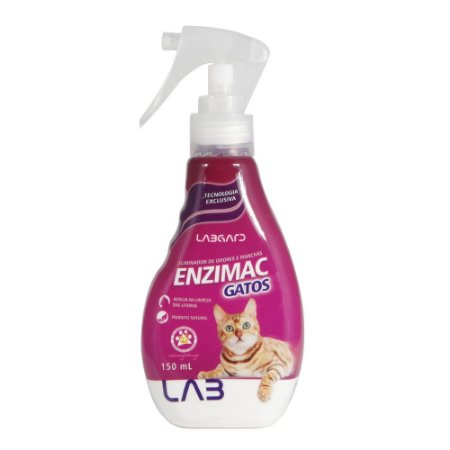 EnziMac Gatos Eliminador De Odores E Manchas 150ml - Labgard