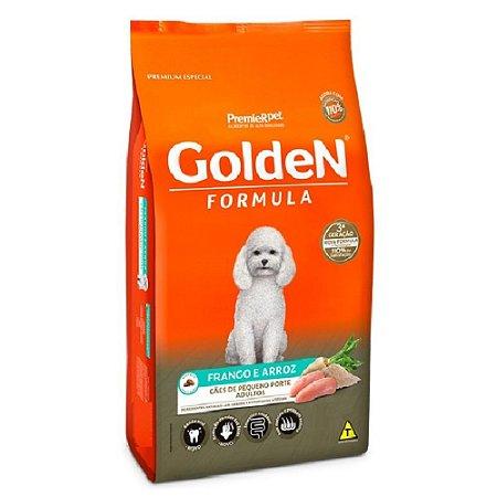 Ração Premium Especial Golden Fórmula Cães Adultos Raças Pequenas Sabor Frango e Arroz Mini Bits 10,1kg - PremierPet