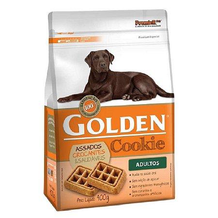 Petiscos Biscoito Golden Cookie Assados Cães Adultos 400g - Sem Trangênicos - PremierPet