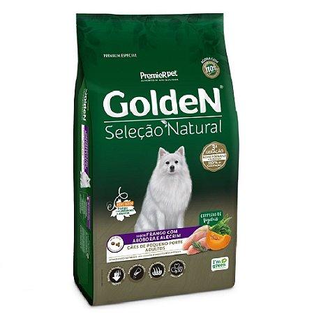 Ração Premium Especial Golden Cães Seleção Natural Adultos Raças Pequenas Sabor Frango Com Abóbora e Alecrim 3kg - PremierPet