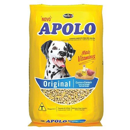 Ração Cães Adultos Apolo Original Carne e Cereais 20kg