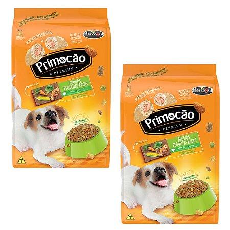 KIT 2un Alimento Cães Ad Primocão Premium Raças Pequenas 1kg