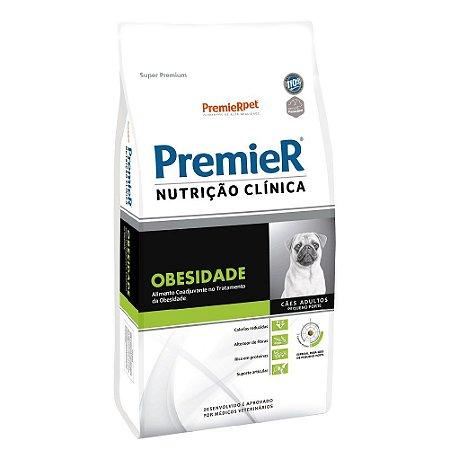 Ração Terapêutica Super Premium Premier Nutrição Clínica Cães Adultos Obesidade Raças Pequenas 10,1kg - PremierPet
