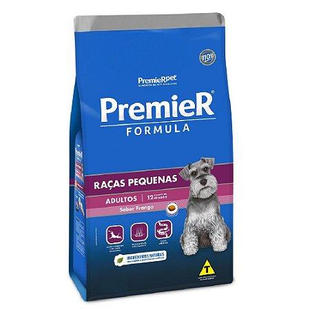 Ração Super Premium Premier Fómula Cães Adultos Raças Pequenas Sabor Frango 15kg - PremierPet