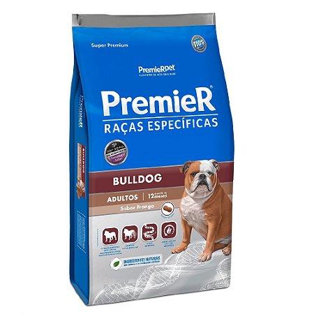 Ração Super Premium Premier Raças Específicas Bulldog Adultos Sabor Frango 12kg - PremierPet