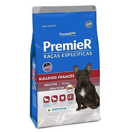 Ração Super Premium Premier Raças Específicas Bulldog Francês Adultos Sabor Frango 7,5kg - PremierPet