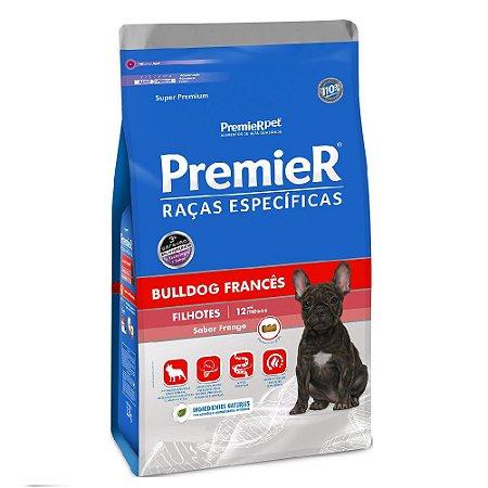 Ração Super Premium Premier Raças Específicas Bulldog Francês Filhotes Sabor Frango 2,5kg - PremierPet