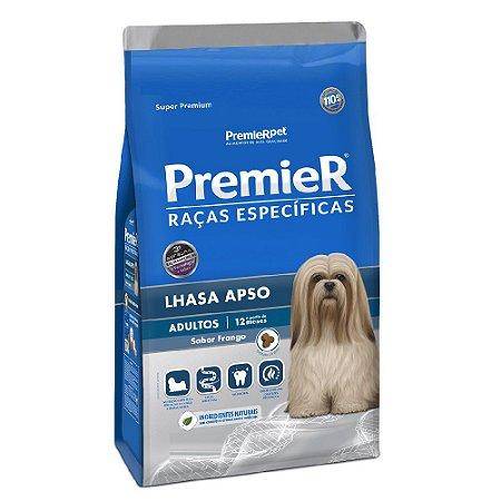 Ração Super Premium Premier Raças Específicas Lhasa Apso Adultos Sabor Frango 1kg - PremierPet