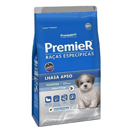 Ração Super Premium Premier Raças Específicas Lhasa Apso Filhotes Sabor Frango 2,5kg - PremierPet