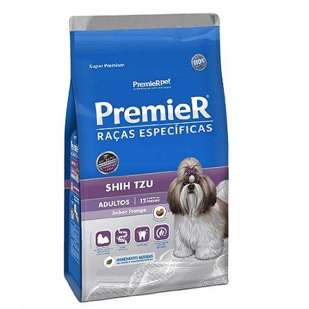 Ração Super Premium Premier Raças Específicas Shih Tzu Adultos Sabor Frango 7,5kg - PremierPet