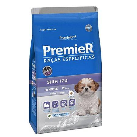 Ração Super Premium Premier Raças Específicas Shih Tzu Filhotes Sabor Frango 2,5kg - PremierPet