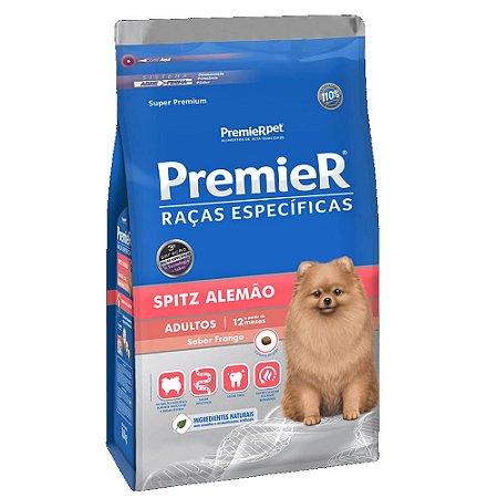 Ração Super Premium Premier Raças Específicas Spitz Alemão Adultos Sabor Frango 2,5kg - PremierPet