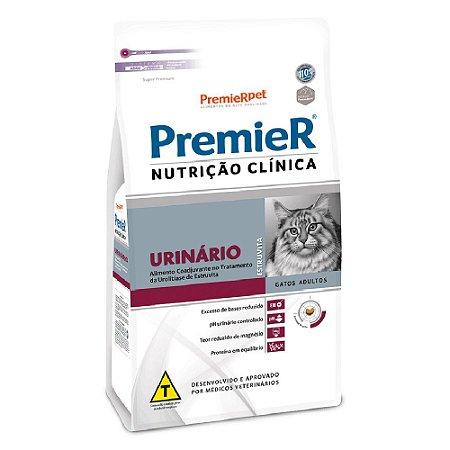 Ração Terapêutica Super Premium Premier Nutrição Clínica Gatos Adultos Urinário 500g - PremierPet