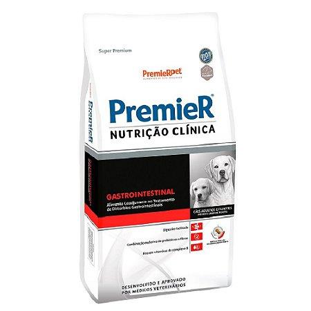 Ração Terapêutica Super Premium Premier Nutrição Clínica Cães Adultos e Filhotes Gastrointestinal Raças Médias e Grandes 10,1kg - PremierPet