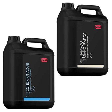 Combo Ibasa Condicionador 5l + Shampoo Branqueador 5l