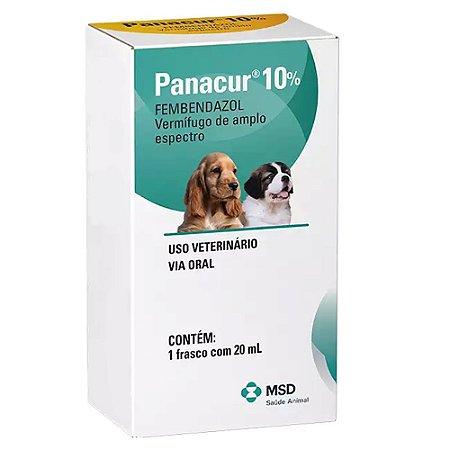 Vermífugo Panacur 10% Suspensão Oral MSD 20ml