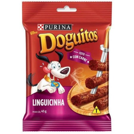 Petisco Doguitos Snack Linguicinha 45g - Purina