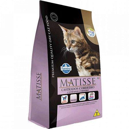Ração Matisse Gatos Castrados Cordeiro 7,5kg