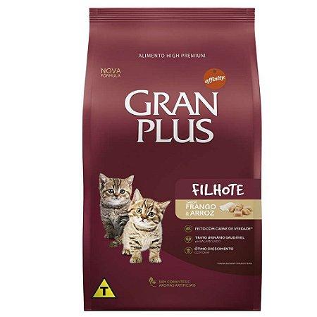 Ração Gran Plus Gato Filhotes Frango e Arroz 1kg
