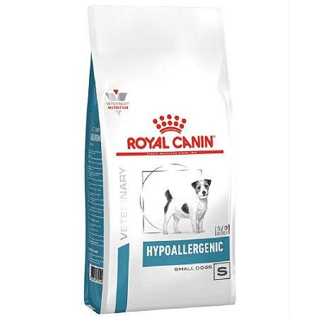 Ração Royal Canin Veterinary Cães Hypoallergenic Small 7,5kg - Royal Canin