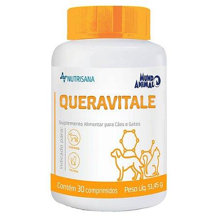 Queravitale Nutrisana 30 Comprimidos 51,45g - Mundo Animal